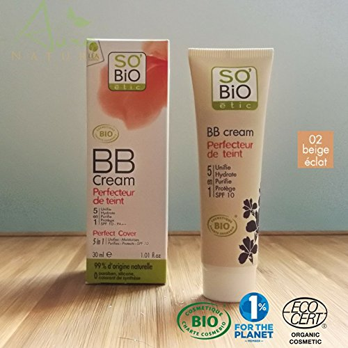 So'Bio étic 2 BB Cream, 40 ml