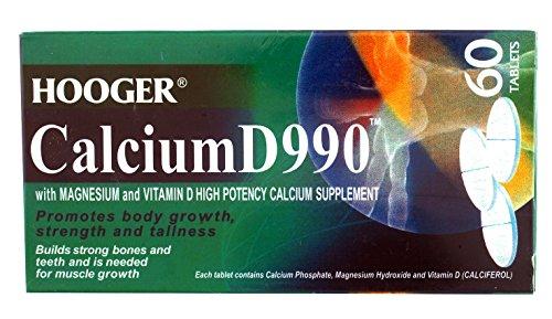 Height Supplement - Hogger Calcium D990 With Magnesium & Vitamin D ( Made in Australia )