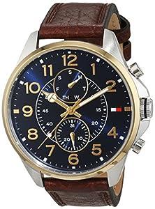 Tommy Hilfiger Hombre Reloj de pulsera Casual Sport analógico de cuarzo piel 1791275