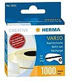 Herma 1051 Nachfüllkassette für Vario Klebespender (permanent fest haftend, Inhalt 1.000 Klebestücke) 1 Packung