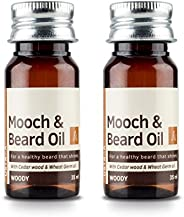 USTRAA Beard Oil woody for an instant beard makeover- 35ml (Set of 2)