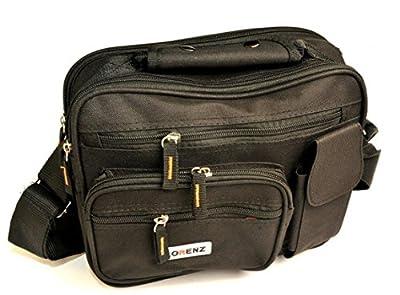 New Large Mens Ladies Twin Top Zip Bag Work Travel Cross Body Shoulder Handbag