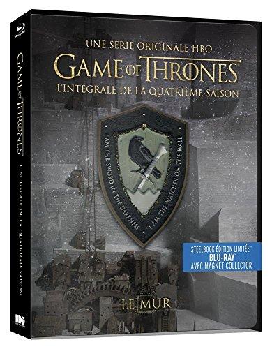 Game of Thrones (Le Trône de Fer) - Saison 4 - Edition limitée Steelbook - Blu-ray - HBO [Édition collector boîtier SteelBook + Magnet]