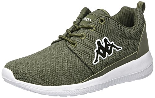Kappa Unisex-Erwachsene Speed II NC Sneaker Grün (3110 Army/White)