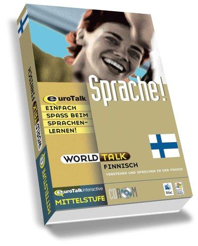 World Talk Finnisch, 1 CD-ROM Mittelstufe. Windows 98/NT/2000/ME/XP und Mac OS 8.6 und höher