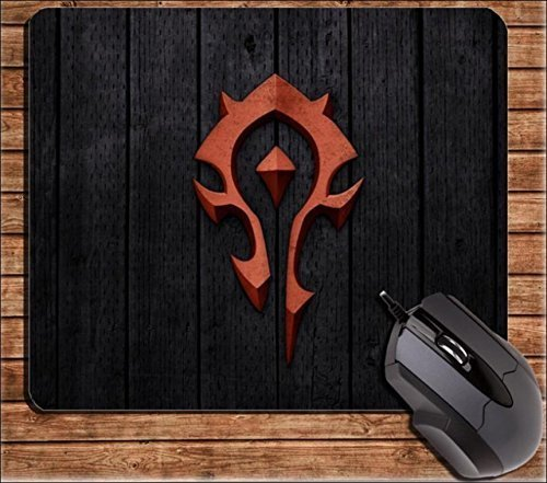 Speaking Life Cute Cartoon Mouse Pads for Computers Wireless Mouse Mat with World of Warcraft (World Of Warcraft Mouse Pad)