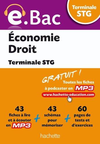 e.Bac - Économie Droit Terminale STG