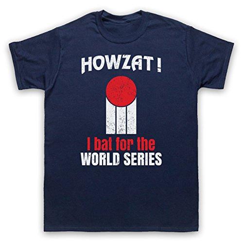 Howzat I Bat For The World Series As Worn By Dennis Lillee Herren T-Shirt Ultramarinblau