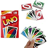 REALACC UNO Kartenspiel Card 108 Blatt