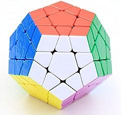 Mayatra's Shengshou Stickerless Megaminx Speed Cube (Color May Vary)