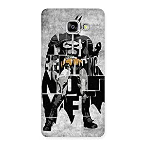 Everything Knight Back Case Cover for Galaxy A5 2016