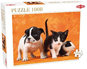Tactic Animal Babies Puzzle - Rompecabezas (Puzzle Rompecabezas, Fauna, Adultos, Niño/niña, 8 año(s), 99 año(s))