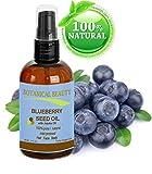Blaubeerkernöl. 100% Natürliche kalt gepresst Trägeröl - 60 ml. Für Haut, Haare, Lippen und Nagelpflege.