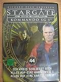 Stargate Kommando SG 1 - Der Kreis schliesst sich / Alles auf eine Karte Teil 1 / Alles auf eine Karte Teil 2 - Die DVD-Sammlun