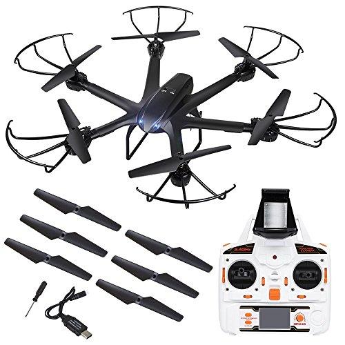 Live Video FPV Drohne mit Kamera MJX X600 Drone Quadcopter Throttle Limit Ein Key rückwärts VR Kompatibel - 7