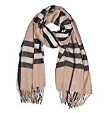 Wigwam accessories Luxus groß Dick Check Designer Cashmere Touch Plaid Schal