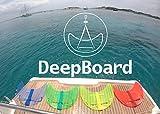 DeepBoard - Tabla Subacuática de Arrastre para Volar Bajo el Mar (Amarillo)