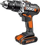 WX372.1 Worx - Hammer Drill 1 batteria agli ioni di litio 20V-2,0Ah