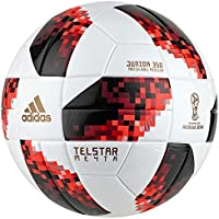 adidas World Cup Knock out J350 Fútbol, otoño/Invierno, Color White/Solar Red/Black, tamaño 5