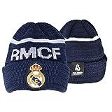 46b5f606c63e6 Gorro Real Madrid azul adulto