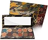 Luvia Lidschatten-Palette - Karmaflage Make-Up - Inkl. 12 provokanten Farben - Limitierte Geschenkbox zu Weihnachten