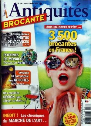 ANTIQUITES BROCANTE [No 154] du 01/07/2011
