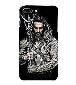 Takkloo warrior ( super hero, Tattoo man, man in hong hair, man holding weapon, great body) Printed Designer Back Case Cover for Apple iPhone 7 Plus
