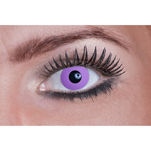 Eyecatcher Color Fun - Lenti a contatto colorate da Purple Gothic - 3 mesi (1 x 2 pezzi)