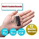 PKDREAMER Erhöhung der Version Digital Voice Recorder 8GB USB-Flash-Laufwerk Multifunktionale wiederaufladbare Mini-Audio-Aufnahmegerät mit MP3-Player aktiviert Mp3-Player Dictaphone Voice Recorder