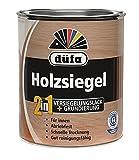 2 in 1 Holzsiegel - Imprägnierung 0,75 Liter Farbton Seidenmatt