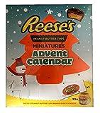 Reeses Adventskalender USA Amerikanische Schokolade Erdnussbutter Weihnachten Weihnachten
