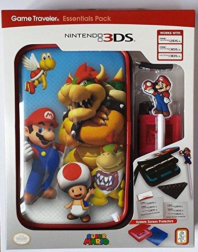 Pochette et accessoires Mario et Browser pour Nintendo New 3DSXL et New 2DSXL
