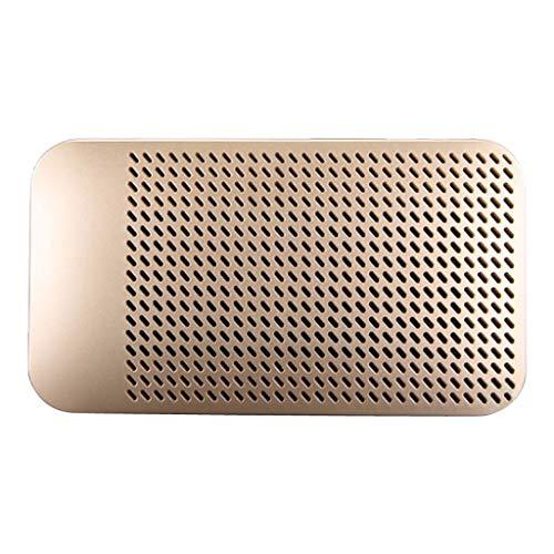 LRWEY Mini Tragbarer Bluetooth Lautsprecher, 1MX7-B 5000mAh Wireless Outdoor Tragbarer ultradünner Bluetooth-Lautsprecher Mini-Pocket-Lautsprecher