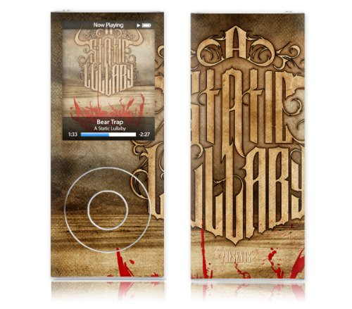 MusicSkins - Film de protection en hommage ? A Static Lullaby Rattlesnake - Apple iPod nano 4th generation