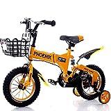 Great St. DGF Bicyclettes pour Enfants 2-12 Ans Bébé Enfants Vélo Hommes et Femmes Amortisseur Bébé Voiture ( Color : Orange, Size : 18 inches )
