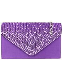 Girly Handbags - Cartera de mano para mujer W 21, H 14, D 5