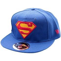 Azul Superman Logo gorra de bisbol