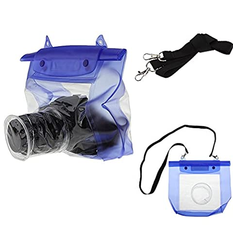 SZTARA Waterproof SLR DSLR Camera Underwater Housing Case Pouch Dry Bag for Canon / Nikon / Sony Suitable for Boating / Rafting / Diving /