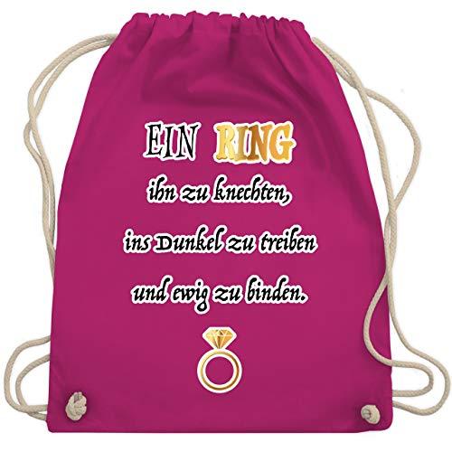 JGA Junggesellinnenabschied - Ein Ring. JGA - Unisize - Fuchsia - WM110 - Turnbeutel & Gym Bag