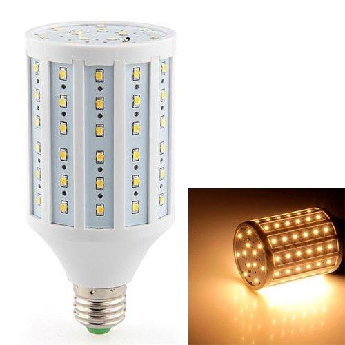 TOOGOO (R) 15W E27 LED 2835 SMD Bombilla Luz Blanco Clido 1200LM= 150W Incandescente