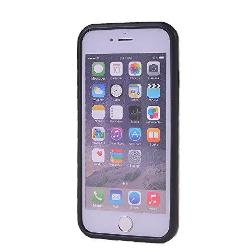iPhone 6 6S h¨¹lle,COOLKE [Goldene] Sto?fest Doppelschutz Duty Schutzh¨¹lle mit St?nder Cover Case f¨¹r Apple iPhone 6 6S (4.7 inch) Silber