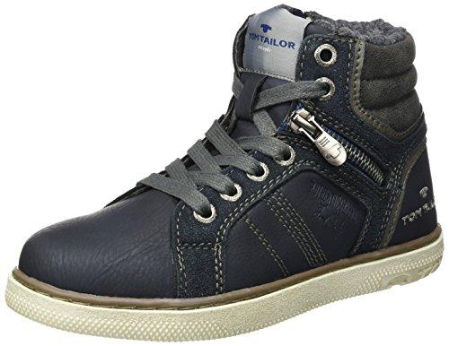 TOM TAILOR Jungen 3770703 Stiefel, Blau (Navy), 38 EU