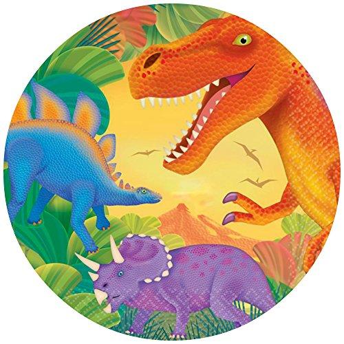 Tortenaufleger Tortenfoto Aufleger Foto Bild Dinosaurier (1) rund ca. 20 cm *NEU*OVP*