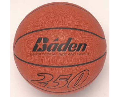 Baden B250 - Pelota de baloncesto, color naranja, talla Size 5