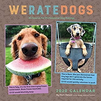 WERATEDOGS 2020 Calendar: #1 Source for Professional Dog Ratings