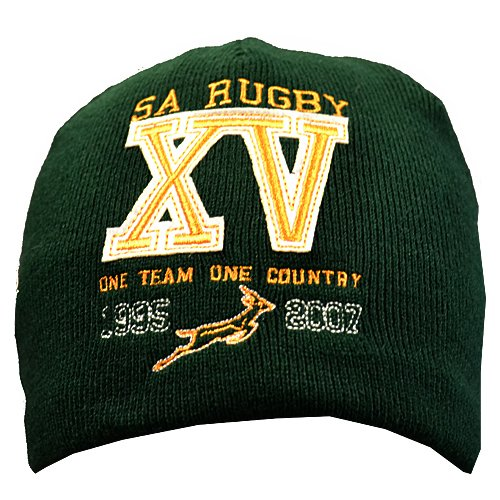Springboks Official South Africa Rugby World Cup Beanie Hat by ASICS   (Adults ) CAP1135 SPRINGBKS ... 3869a9aa842