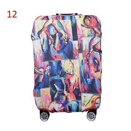 Haodasi Neu Elastisch Dustproof Gepäck Koffer Trolley Schutz Tasche Abdeckung Anti-Kratzer #12