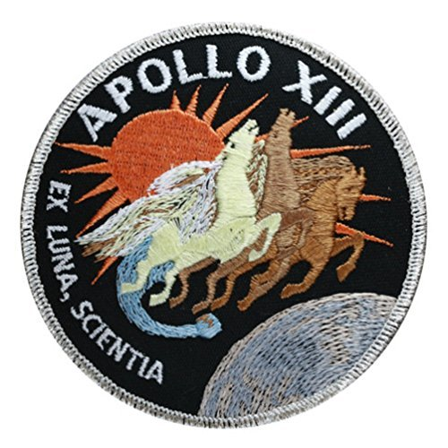 Apollo Mission 13 Embroidered Patch10cm DiaApprox Patchofficial WQrdxeBCo
