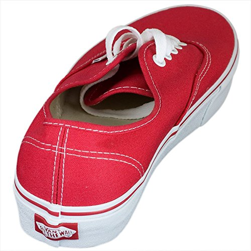 Vans Authentic Sneaker red Rot