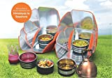 Simplified Technologies Portable Solar Oven / Solar Cooker for Camping, Hiking, Picnic, Outdoor Activities,Learning Science for Kids.